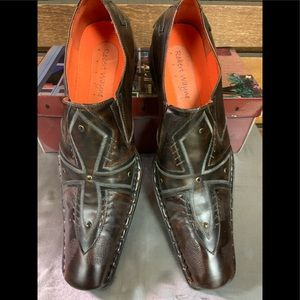 * Like New * Vintage Men's Leather Loafer